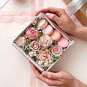 Цветы и флористика handmade. Livemaster - original item Flower soap box. Handmade.