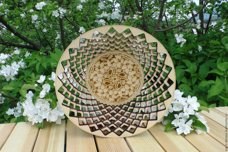 Round vase made of cedar, Vases, Tomsk,  Фото №1