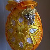 Подарки к праздникам ручной работы. Ярмарка Мастеров - ручная работа Пасхальное яйцо в стиле аришок. Handmade.