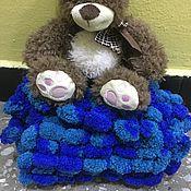 Аксессуары ручной работы. Ярмарка Мастеров - ручная работа шарфик Нежный морской. Handmade.