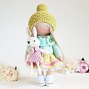 Куклы и игрушки ручной работы. Ярмарка Мастеров - ручная работа Интерьерная кукла Эмма. Handmade.