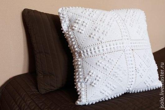 Текстиль, ковры ручной работы. Ярмарка Мастеров - ручная работа. Купить Подушка декоративная. Handmade. Подушка декоративная, думочка
