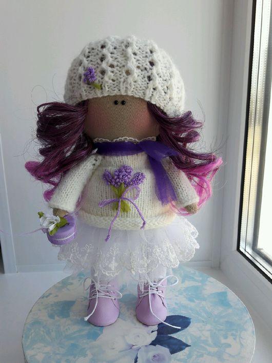 Куклы тыквоголовки ручной работы. Ярмарка Мастеров - ручная работа. Купить Текстильная кукла. Handmade. Интерьерная кукла, трессы для кукол