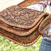 handmade. Livemaster - original item Women`s leather handbag