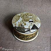 Для дома и интерьера handmade. Livemaster - original item Trinket box Alpine Landscape. Handmade.