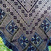 """Аксессуары ручной работы. Ярмарка Мастеров - ручная работа """"Viola"""" (шаль вязаная). Handmade."""