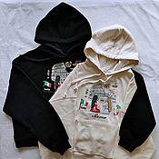 Одежда handmade. Livemaster - original item Paired hoodies