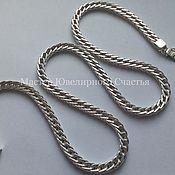 "Украшения handmade. Livemaster - original item Chain ""Fox Tail"" sterling silver. Handmade."