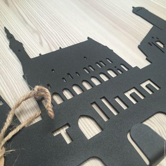 """Прихожая ручной работы. Ярмарка Мастеров - ручная работа. Купить Вешалка-ключница """"Таллин"""". Handmade. Таллин, металлические бусины, воспоминания"""