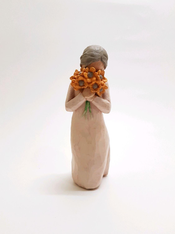 Девушка с букетом, Статуэтки, Ульяновск,  Фото №1