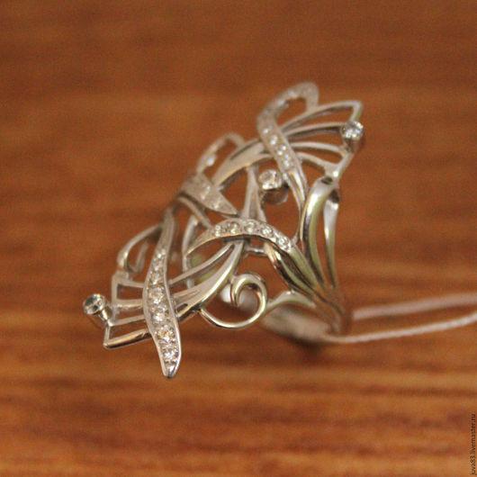 Кольца ручной работы. Ярмарка Мастеров - ручная работа. Купить Серебряное кольцо Причуда, серебро 925. Handmade. Серебряный