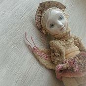 """Куклы и игрушки ручной работы. Ярмарка Мастеров - ручная работа """"Утренняя зорька..."""" Птичка тедди-долл. Handmade."""