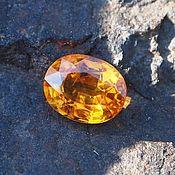 Материалы для творчества handmade. Livemaster - original item Yellow sapphire. Handmade.