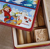 Большой подарочный набор скалок и прессов в гостях у сказки