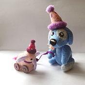 Куклы и игрушки ручной работы. Ярмарка Мастеров - ручная работа Пёс Феликс. Handmade.