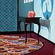 Текстиль, ковры ручной работы. Флокированный ковер с любым изображением. Deco Curtains(VERMA). Интернет-магазин Ярмарка Мастеров. Ковер
