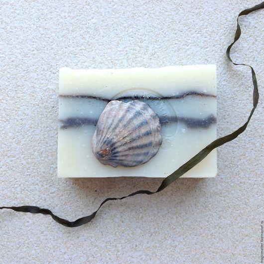САД МОРЯ мыло с водорослями и глиной органическое