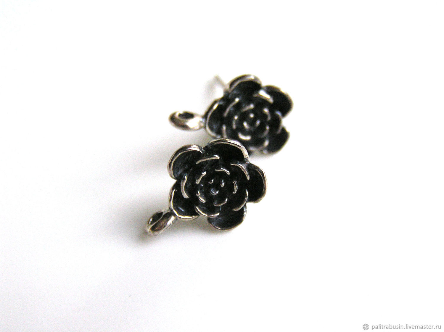 Studs 925 sterling silver Bali, Accessories for jewelry, Tyumen,  Фото №1