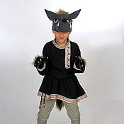 Работы для детей, ручной работы. Ярмарка Мастеров - ручная работа Волк (костюм театральный, карнавальный). Handmade.