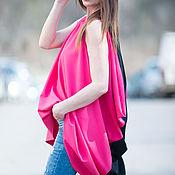 Одежда handmade. Livemaster - original item Summer tunic, two-tone and bright - TP0453PLV. Handmade.