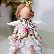 Куклы и игрушки ручной работы. Ярмарка Мастеров - ручная работа Мороженка Принцесса на горошине Тильда Ангел. Handmade.