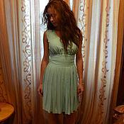 Одежда ручной работы. Ярмарка Мастеров - ручная работа Мятное платье в стиле Мэрилин Монро. Handmade.
