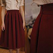 Одежда handmade. Livemaster - original item Midi skirt. Handmade.