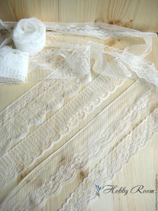 Шитье ручной работы. Ярмарка Мастеров - ручная работа. Купить Кружево капроновое 4, 5, 6, 7 см.. Handmade.