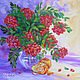 Painting still life ' Rowan fire'. Pictures. Lifia Art. Online shopping on My Livemaster.  Фото №2