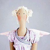 Куклы и игрушки ручной работы. Ярмарка Мастеров - ручная работа Лавандовый ангел Тильда. Handmade.