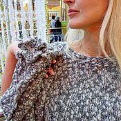 Одежда ручной работы. Ярмарка Мастеров - ручная работа Туника, комплект одежды В зимнем серебре. Handmade.
