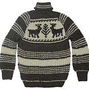 Одежда handmade. Livemaster - original item Sweater:pure 100% sheep wool. Handmade.