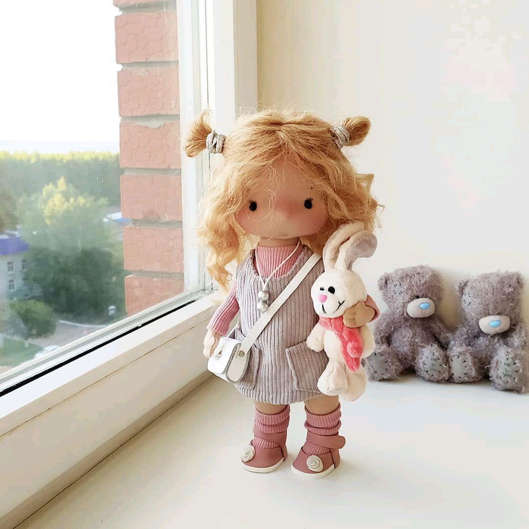 Кукла интерьерная ручной работы текстильная, Куклы и пупсы, Чайковский,  Фото №1