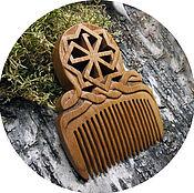 Русский стиль handmade. Livemaster - original item Comb - amulet