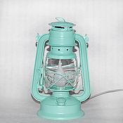 Подарки к праздникам handmade. Livemaster - original item Kerosene electric table lamp Tiffany gift on March 8. Handmade.
