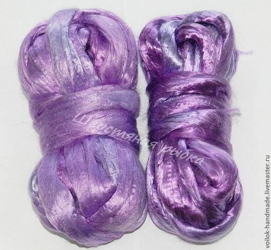 мультиколор-фиолетовый - различные оттенки окраса по длине пасмы