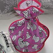 Для дома и интерьера handmade. Livemaster - original item ALICE`s TEA party-hot water bottle-knot on the teapot. Handmade.