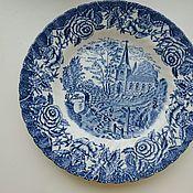 Винтажные тарелки ручной работы. Ярмарка Мастеров - ручная работа Тарелки British anchor, Англия. Handmade.