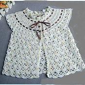 Одежда ручной работы. Ярмарка Мастеров - ручная работа детская кофточка. Handmade.