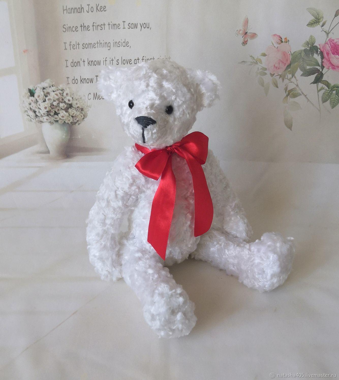 Bear-Teddy white, Teddy Bears, Moscow,  Фото №1