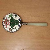 Для дома и интерьера ручной работы. Ярмарка Мастеров - ручная работа Зеркало с ручкой. Handmade.