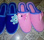"""Обувь ручной работы. Ярмарка Мастеров - ручная работа Тапочки """"Радость"""". Handmade."""