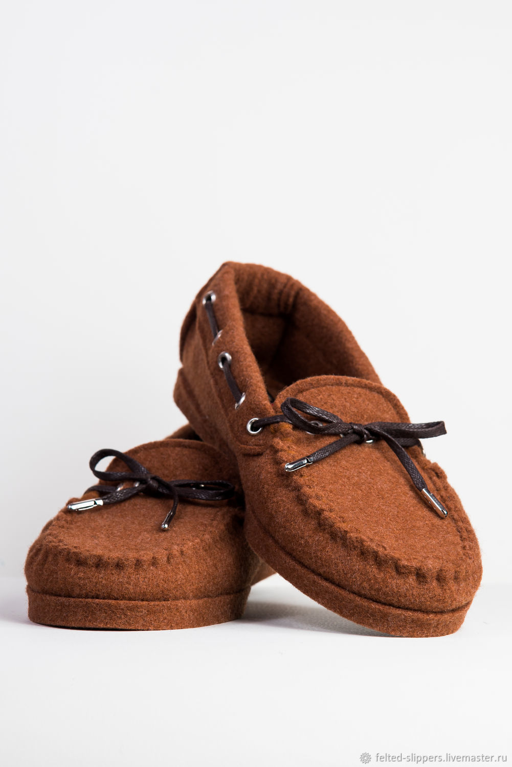 Loafers from CLASSIC felt, 100% wool, Slippers, Prague,  Фото №1