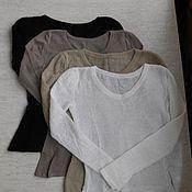 Одежда ручной работы. Ярмарка Мастеров - ручная работа Джемпер из кид-мохера. Handmade.