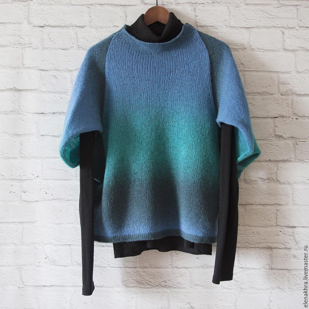 Пуловер из тонкой пряжи доставка