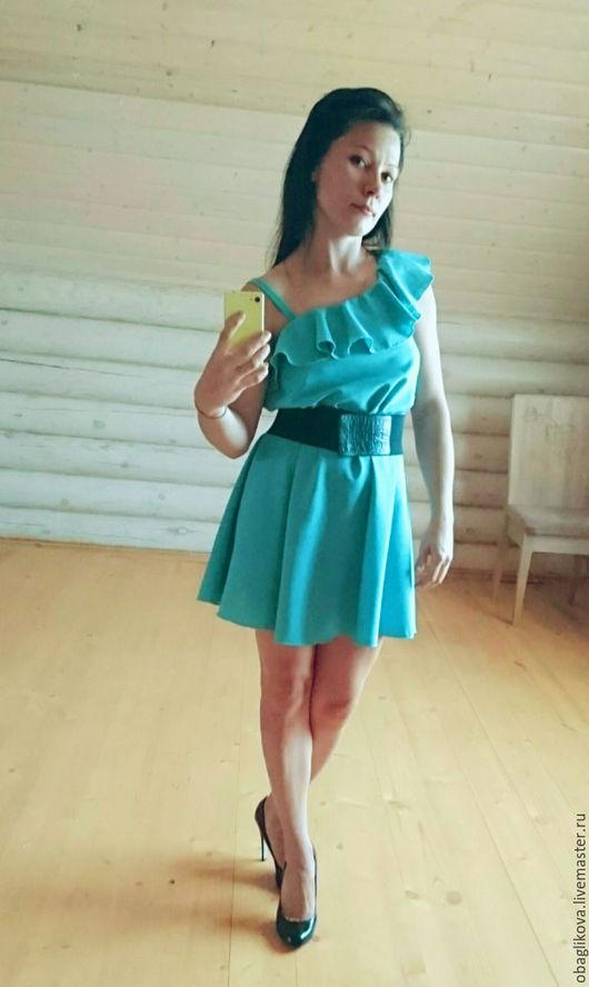 Платье из льна 1400р.