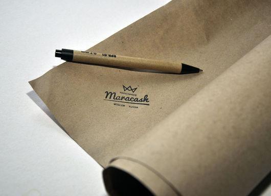 Упаковка ручной работы. Ярмарка Мастеров - ручная работа. Купить НЕТ В НАЛИЧИИ! Крафт бумага в листах 84х100 см. Handmade.