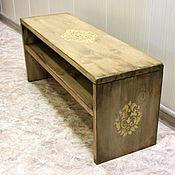 Для дома и интерьера handmade. Livemaster - original item Children`s bench, in the hallway,
