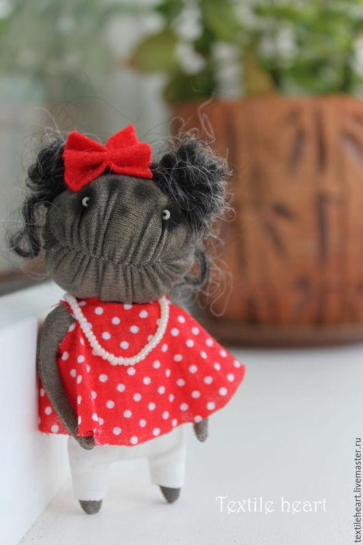 Куклы и игрушки ручной работы. Ярмарка Мастеров - ручная работа. Купить Minnie.. Handmade. Ярко-красный, чердачная кукла, минни