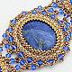 """Комплекты украшений ручной работы. Ярмарка Мастеров - ручная работа. Купить Комплект """"Клеопатра"""". Handmade. Браслет, синий, восточный стиль"""